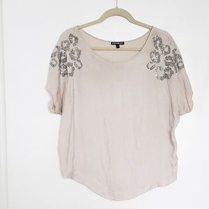 Express Grey and Silver Blouse